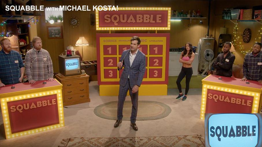 Squabble with Michael Kosta